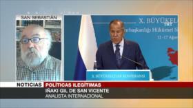 Iñaki Gil: EEUU utiliza sanciones para saquear a otros países