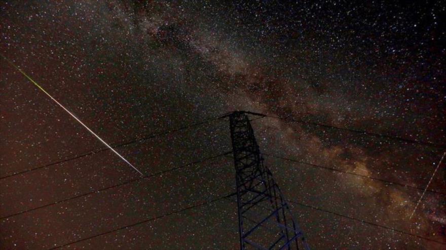 Vea la bellísima lluvia de meteoros de las Perseidas de 2018