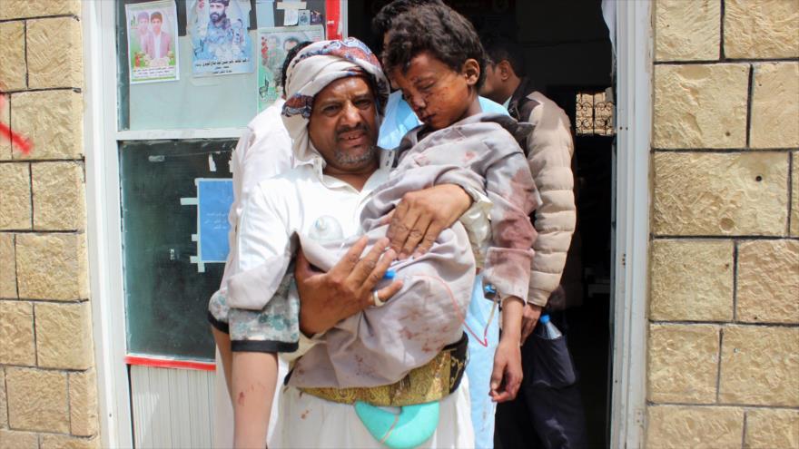 Hezbolá: Matanza de yemeníes evidencia derrota de agresión saudí
