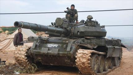Vídeo: Ejército sirio despliega tropas en Hama para nueva ofensiva
