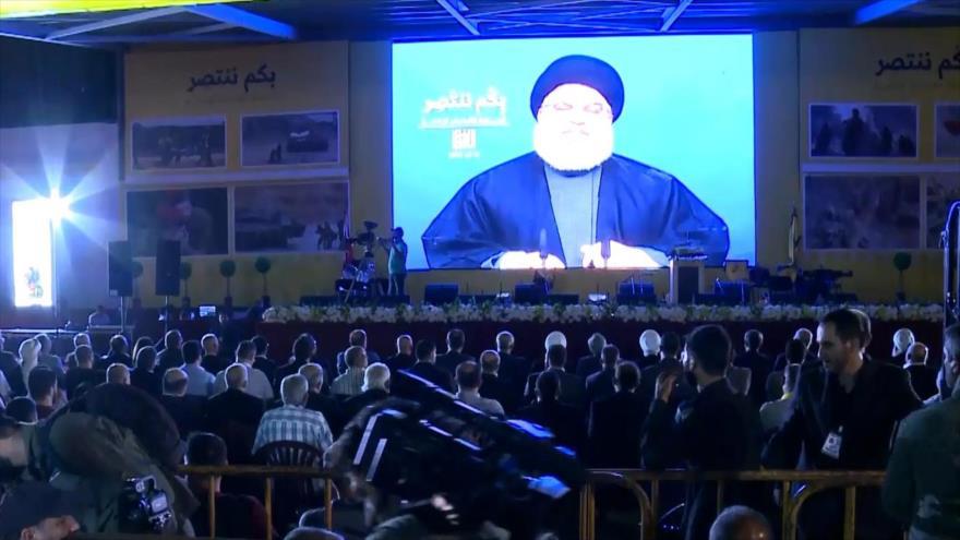 El Líbano: Hezbolá celebra 12 años de victoria frente a Israel