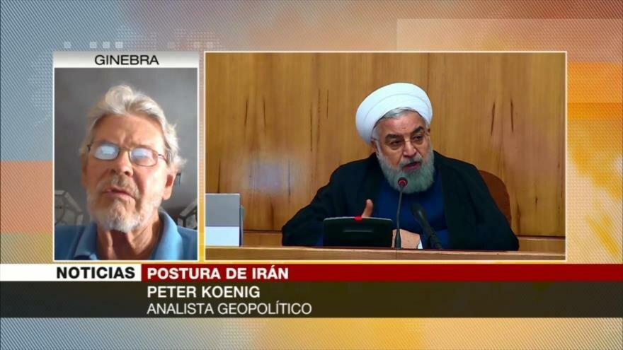 Peter Koenig: Irán no dialogará con EEUU entre constantes amenazas
