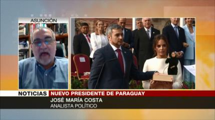 """Nuevo presidente paraguayo sigue política de dictadura stronista"""