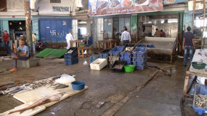 El sector pesquero de Gaza es afectado por el asedio israelí