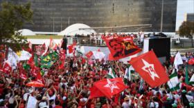 Partido de Lula inscribe su candidatura a la presidencia de Brasil