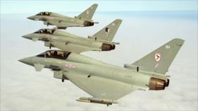 Aviación británica intercepta cazas rusos Su-24 sobre el mar Negro