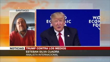 Silva Cuadra: Medios de comunicación de EEUU hacen política