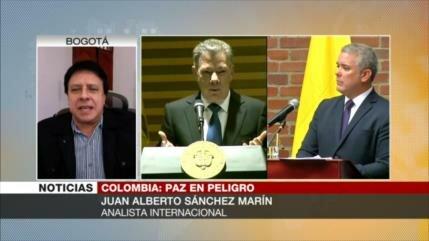 Sánchez Marín: Gobierno de Duque busca modificar acuerdo con FARC