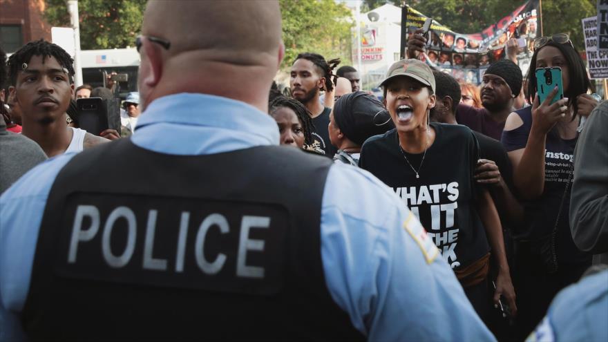 90% de violencia policial en Chicago se dirige contra gente de color