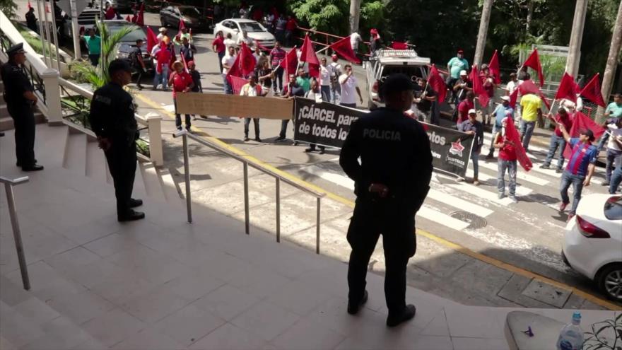 Protestan en Panamá contra posible manipulación de fallos de CSJ