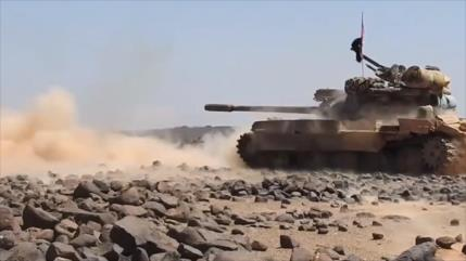 Vídeo: Ejército sirio ataca última montaña ocupada por EIIL en sur