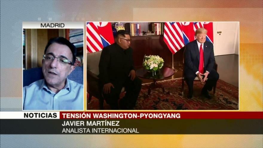 Javier Martínez: Medidas de EEUU contra Pyongyang son criminales