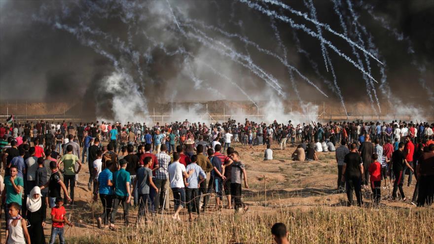 Fuego israelí acaba con la vida de 2 palestinos en 21.ª Marcha en Gaza