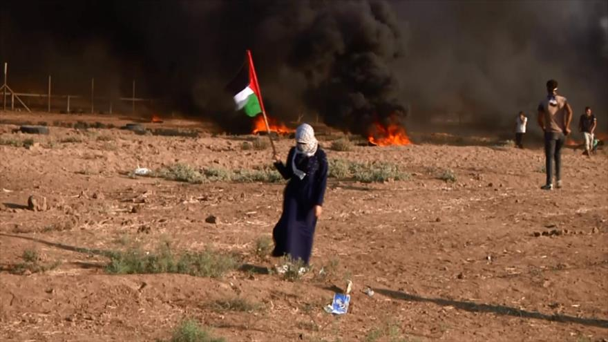 Dos manifestantes palestinos muertos por bala israelí en Gaza