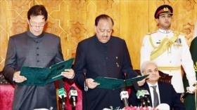 Imran Jan jura como primer ministro de Paquistán