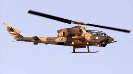Irán extiende el alcance de las armas montadas en sus helicópteros
