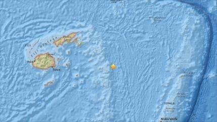 Se produce fuerte terremoto de magnitud 8 cerca de islas Fiyi