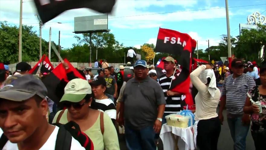 Siguen marchas a favor y en contra del Gobierno de Nicaragua