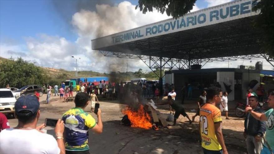 Vídeo: Un grupo de brasileños agrede a refugiados venezolanos