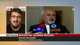 Salazar: Irán puede aprovechar distanciamiento de Europa con EEUU