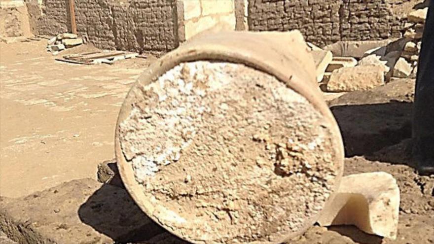 Hallan el queso más antiguo del mundo en una tumba egipcia