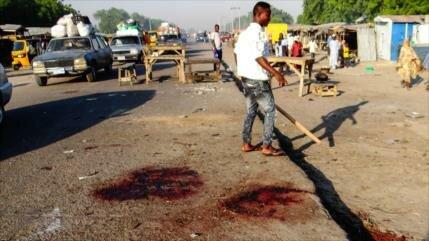 Ataque terrorista deja al menos 19 muertos en Nigeria