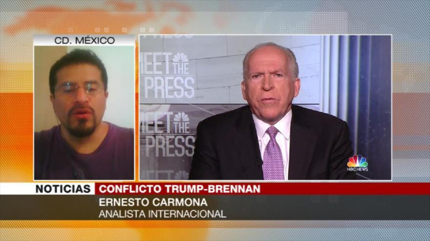 Carmona: 'Trump no tiene argumentos frente a Brennan, se echará atrás'
