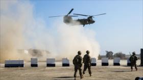 Un militar de coalición de EEUU muere en accidente aéreo en Irak