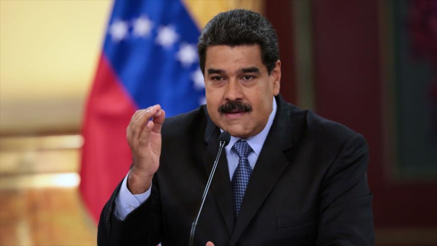 El presidente de Venezuela, Nicolás Maduro, presenta nuevas medidas económicas, durante un discurso en Caracas, 17 de agosto de 2018. (Foto:AFP)