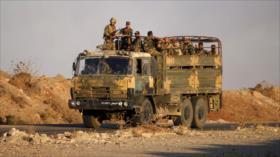 Ejército sirio destruye fortificaciones de los terroristas en Hama