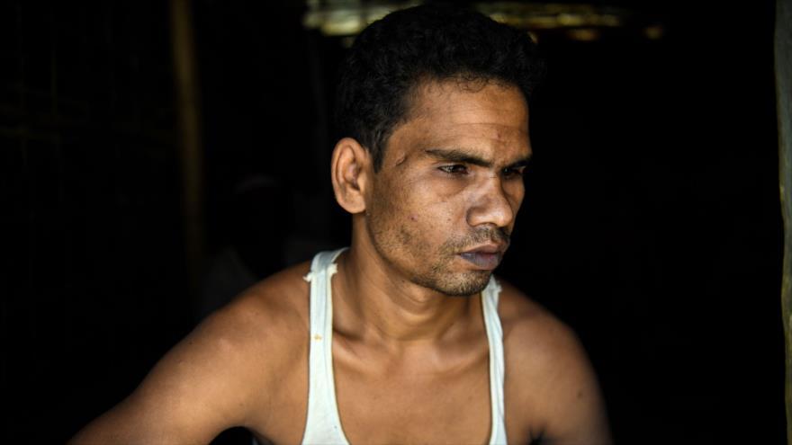 'Dolor y lágrimas' son la vida diaria de los rohingyas