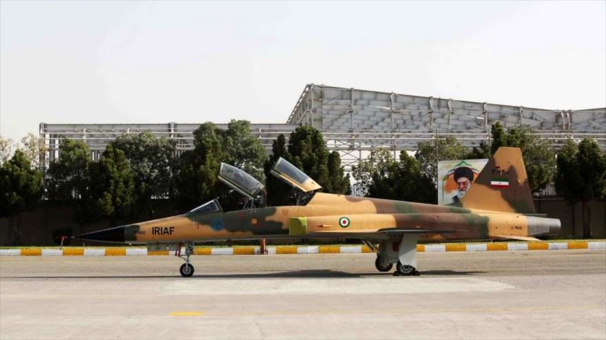 El primer avión de combate iraní de fabricación nacional, 21 de agosto de 2018.