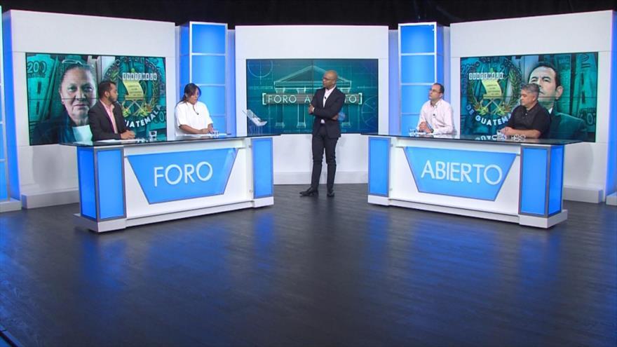Foro Abierto; Guatemala: antejuicio contra el presidente Jimmy Morales