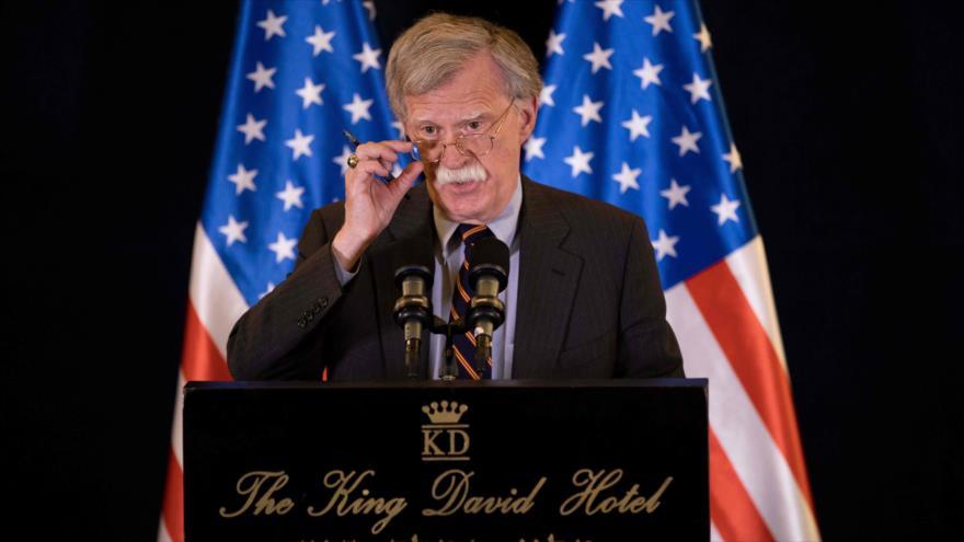 La Casa Blanca estudia posibles nuevas sanciones a Irán: Bolton