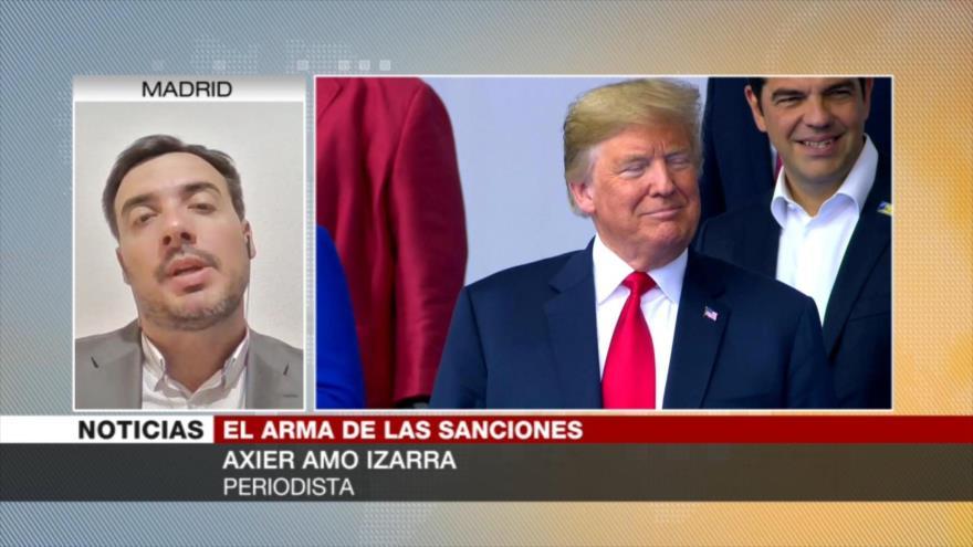 Izarra: Trump recurre a embargos por falta de apoyo del Pentágono