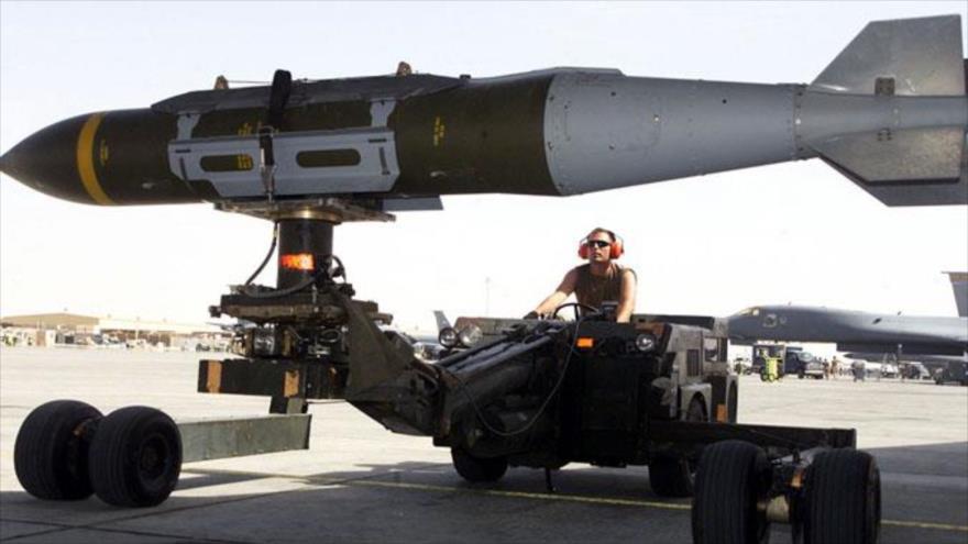 La OTAN envia nuevas municiones guiadas de EEUU a los aliados