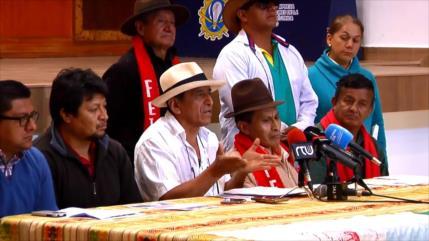 Campesinos ecuatorianos se organizan contra medidas de Moreno