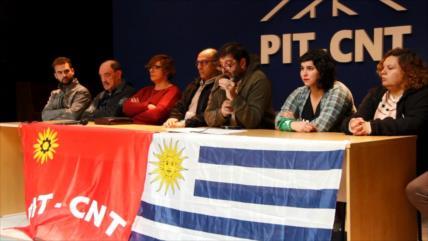 Paro de 24 horas de trabajadores en Uruguay
