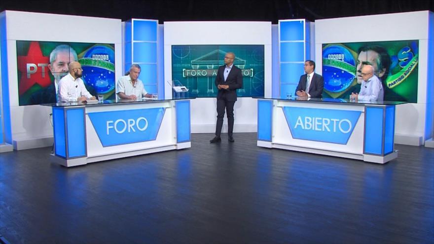 Foro Abierto; Brasil: ONU pide dar garantías a candidatura de Lula