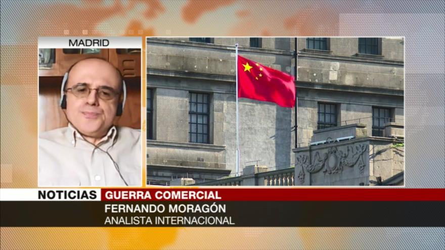 Moragón: EEUU busca estrangular economías de China, Rusia e Irán