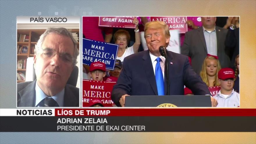 Zelaia: Trump podría perder cargo por situación política extrema