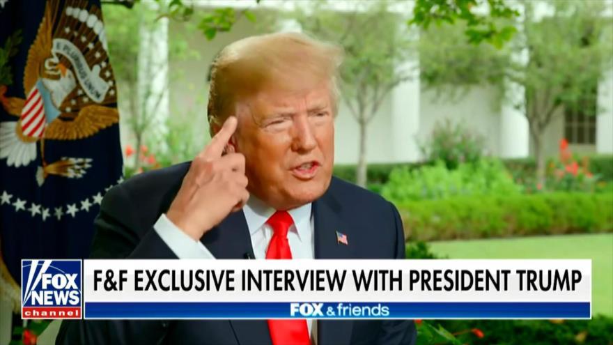 Trump amenaza con colapso financiero si es sometido a impeachment