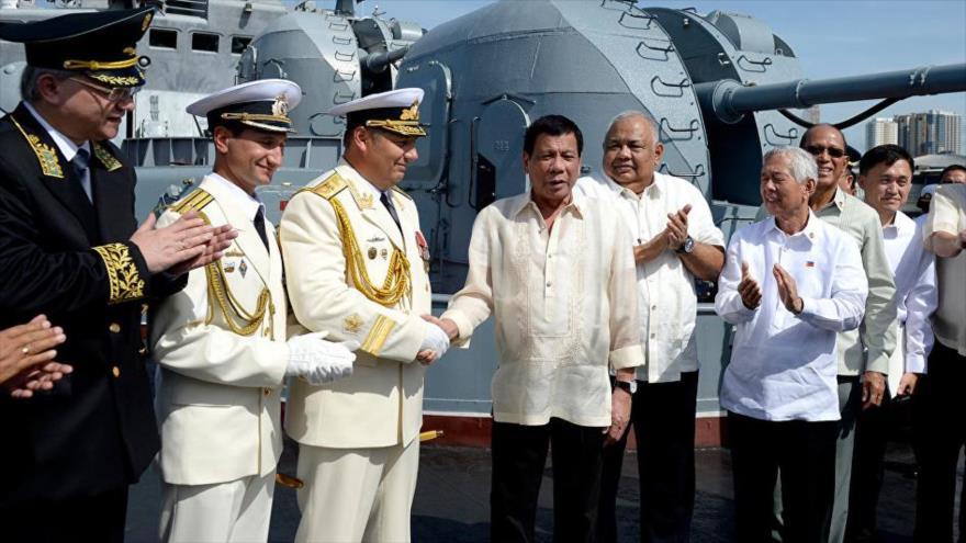 """Rusia critica """"competencia desleal"""" armamentística de EEUU en Filipinas"""