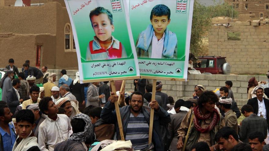 Mueren 22 niños y 4 mujeres en nuevo ataque saudí contra Yemen