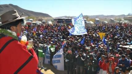 Morales a Argentina: militarizar frontera no asusta a Bolivia