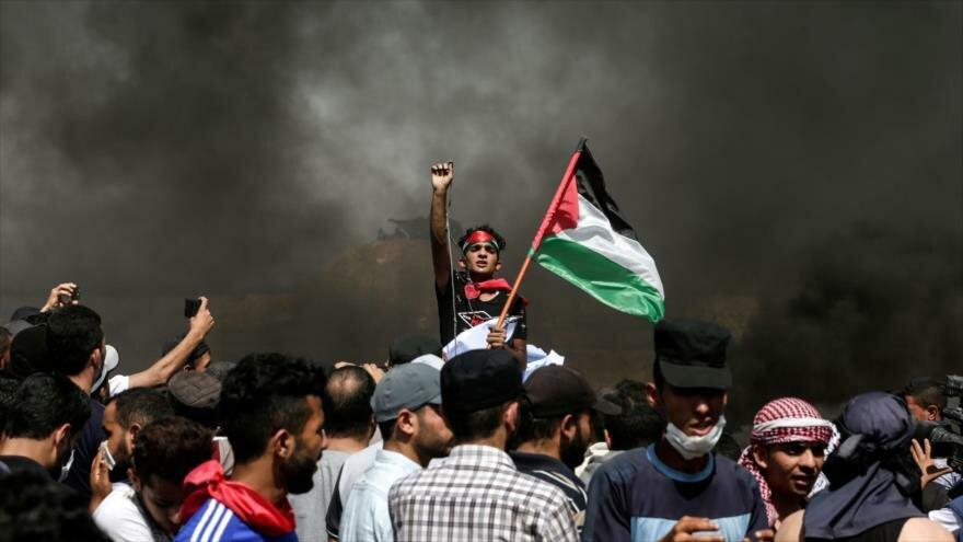 Israel promueve ley contra porte de bandera de Palestina