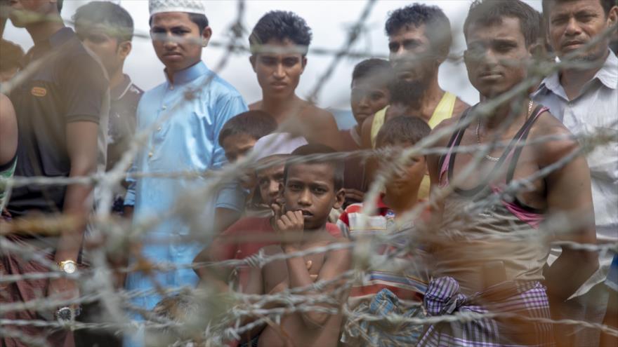 A un año del éxodo masivo de musulmanes rohingyas de Myanmar