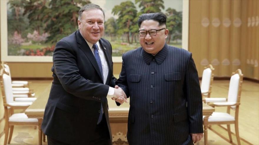 """Trump anula viaje de Pompeo a Corea del Norte por falta de """"progresos"""""""