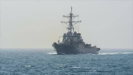 'EEUU envió al Golfo Pérsico buque y bombardero para atacar Siria'