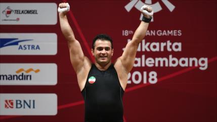 Atleta iraní Moradi bate record más antiguo de halterofilia